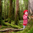 Child lost in the woods — Stock Photo #40564717