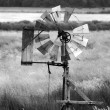 Wind water pump — Stock Photo