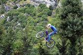 Freestyle BMX — Stock Photo