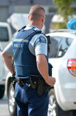 New Zealand Police Force — Stock Photo