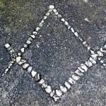 Freemason symbol — Stock Photo