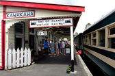 Bay of Islands Vintage Railway Kawakawa NZ — Stock Photo