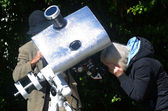 Solar telescope — Stock Photo
