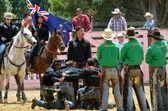 New Zealand Rodeo - Haka  — Stock Photo