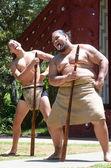 Maori men — Foto de Stock