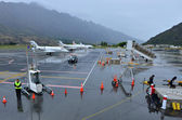 Queenstown Airport — Stock Photo