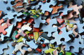 Jigsaw puzzle — Foto Stock