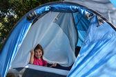 Kamp çocuk — Stok fotoğraf