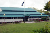 Cook Island government building — Stock Photo