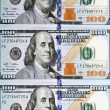 New one hundred dollar bill — Stock Photo #42379381