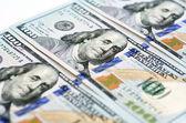 New one hundred dollar bill — Stok fotoğraf