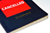 Cancelled Passport — Stock Photo