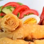 Yemeni Food - Jachnun — Stock Photo