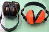Industrial headphones — Foto de Stock