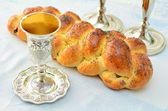 Shabbat eve table — Stock Photo
