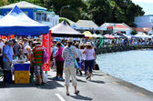 Mangonui Waterfront Festival — Stock Photo