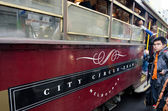 Melbourne City Circle Tram — Stock Photo