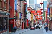 Melbourne Chinatown — Stock Photo