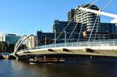 Seafarers Bridge - Melbourne — Stockfoto