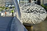 Webb Bridge - Melbourne — Stock Photo