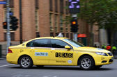 13CABS Melbourne Australia — Stock Photo