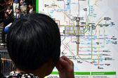 Melbourne tramnet — Stockfoto