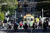 Melbourne - Street Scene — Stock Photo