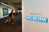 Melbourne Airport - Tullamarine Airpor — Stock Photo