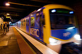 Metro Trains Melbourne — Stock Photo