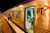 Metro Trains Melbourne — Stock Photo