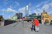 Federation Square - Melbourne — Стоковое фото