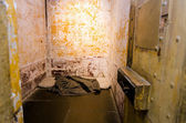 Old prison cell — Stock Photo