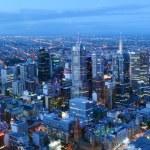 Melbourne Skyline — Stock Photo #45764587