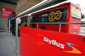 Skybus Super Shuttle — Stock Photo