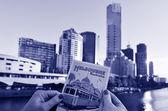 Southbank melbourne - victoria — Foto de Stock