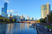 Yarra River - Melbourne  — Stock Photo