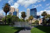 Victoria Parliament Gardens Reserve — Stock Photo