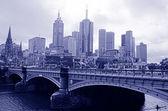 Princes Bridge - Melbourne — Stock Photo