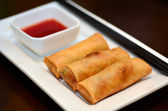 Chines food - Egg rolls — 图库照片