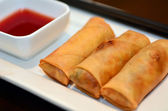 Chines food - Egg rolls — Stockfoto