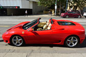 Ferrari F430 Spider — Stock Photo