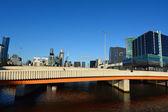 Charles Grimes Bridge - Melbourne — Stock Photo