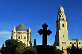 Hagia Maria Sion Abbey church in Mount Zion. Jerusalem — Stock Photo