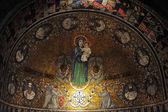 Hagia maria iglesia abacial de sion en el monte sión. jerusalén — Foto de Stock