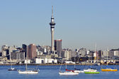 Skyline de cidade de Auckland — Fotografia Stock