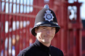 British Police Officer — Stock Photo
