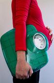 Pregnant woman health care — Zdjęcie stockowe