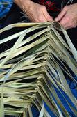 маори тканые произведения — Стоковое фото