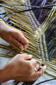 Maori woven artwork — Stock Photo