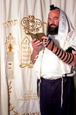 Jewish Man Praying — Stock Photo